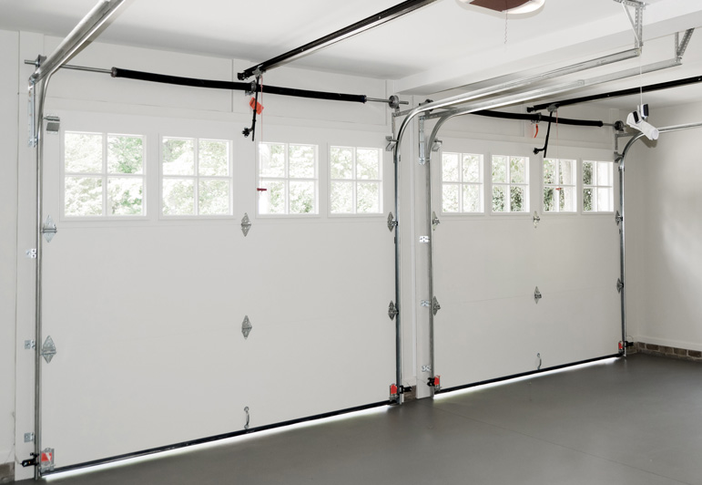 Garage Door Inside Home
